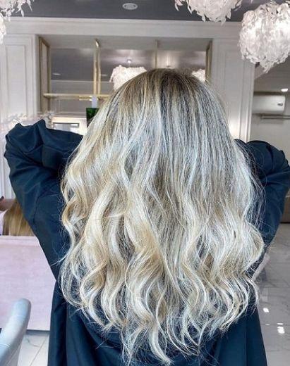 стрижка на длинные волосы днепр